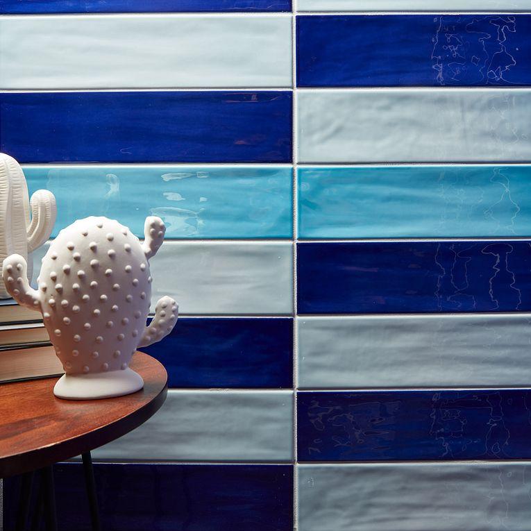 Gioia Navy, Sky & Azure 4 x 16