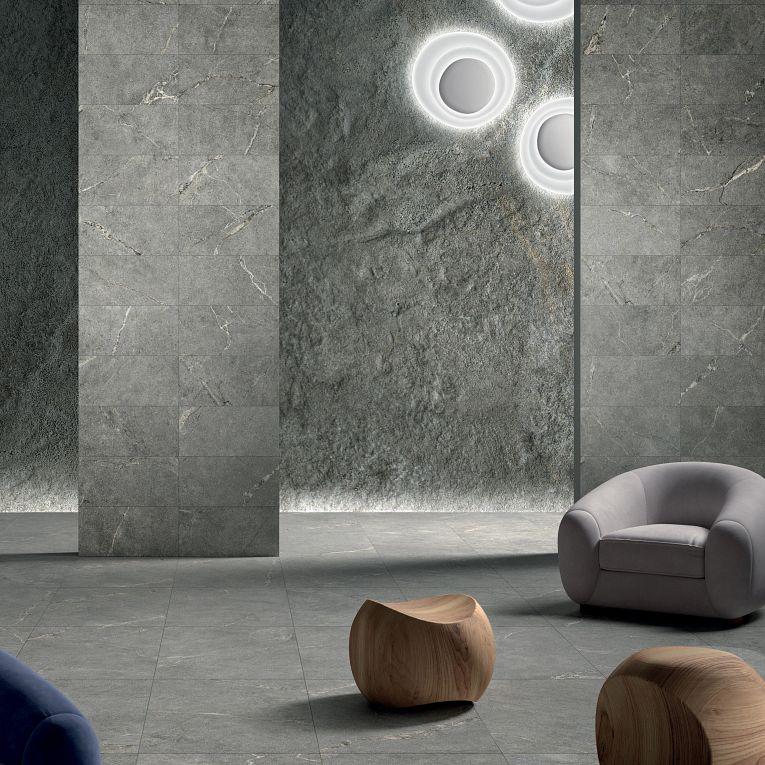 Anthology Gray 12 x 24 (wall) & 24 x 48 (floor)
