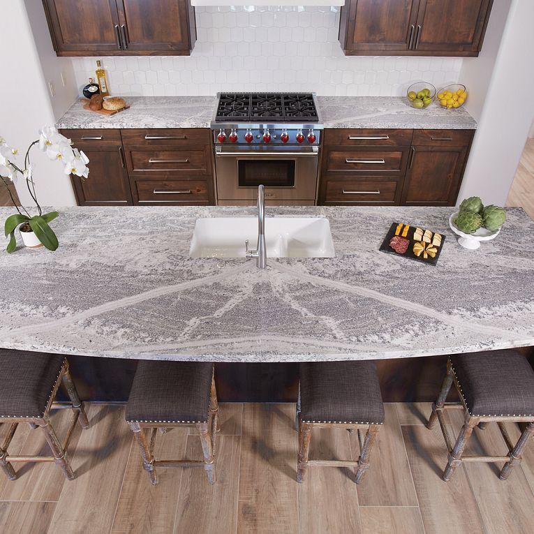 Aequa Silva 12 x 48 & Monte Cristo Satin Granite