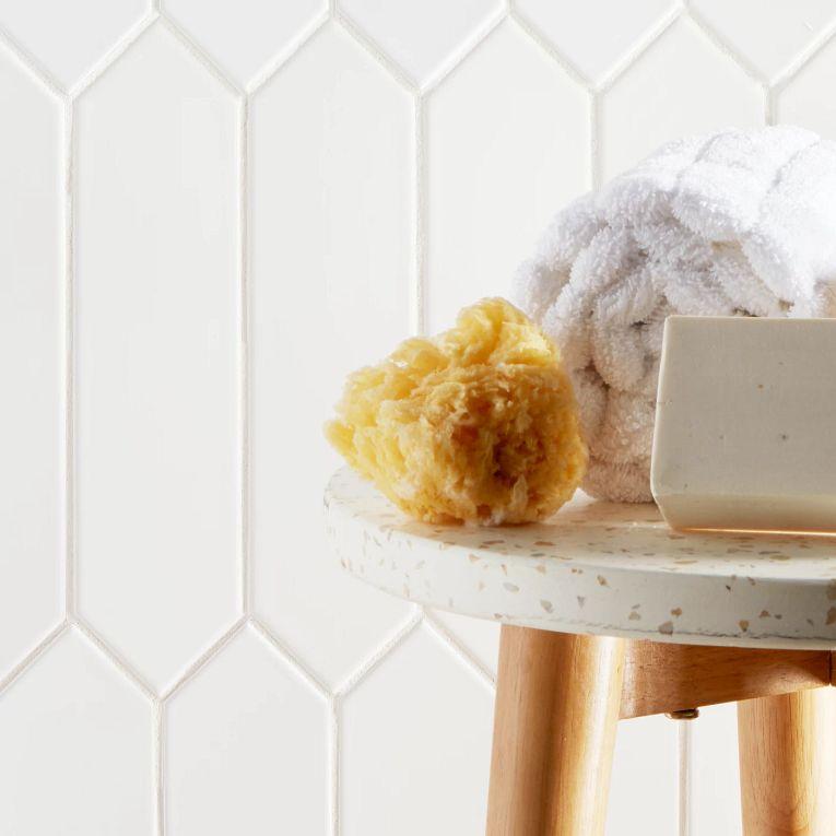 Paloma Cotton Glossy Picket 3 x 12