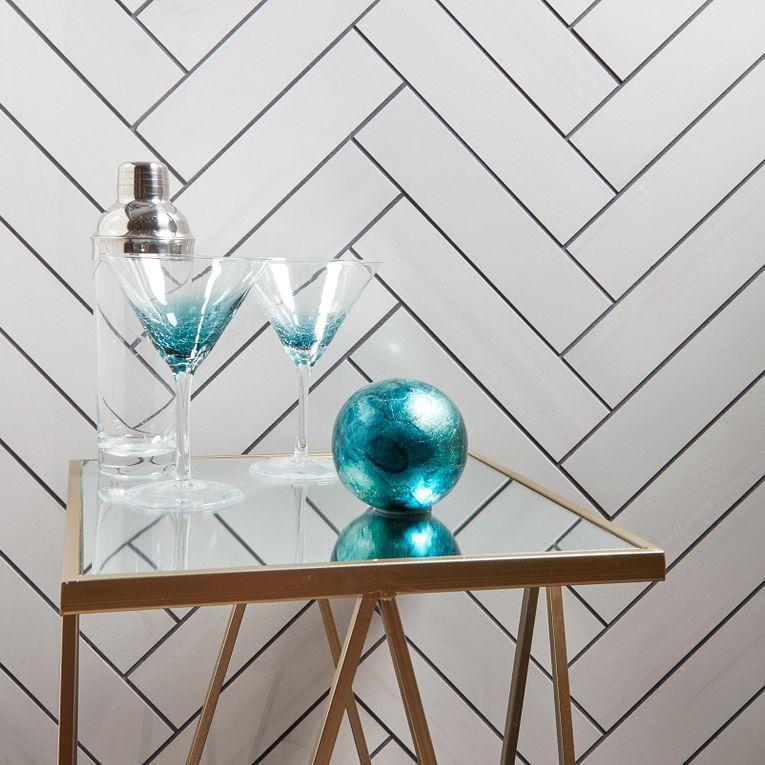 Themar Bianco Lasa Polished 3 x 12